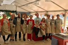 Samen met mijn geweldige 9 bakkermakkers